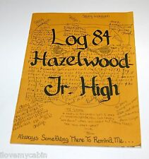 1984 Hazelwood Jr Junior High School New Albany IN Indiana Yearbook