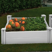 New England Arbors Sutton Raised Garden Planter Bed VA68228