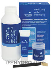 Bluelab Conductivity Probe Cleaning Kit - ec nutrient meter calibration solution