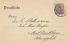 BREMEN, Postkarte 1913, Leopold Engelhardt & Biermann