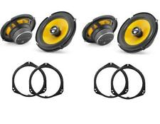 BMW X5 E53 2000 - 2006 JL Audio C1-650x Front and Rear Door Speaker Upgrade Kit