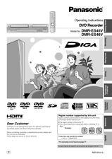 Panasonic DMR-ES45V DMR-ES46V DVD Recorder Owners Instruction Manual