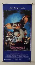 GREMLINS 2 Movie Poster (Fine+) AUSTRALIAN Rolled Daybill 1990 13 1/4x26 3/4 262