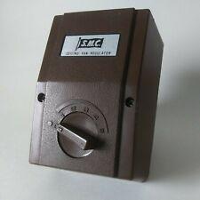 Vintage SMC Model M48 Ceiling Fan Regulator 5 Speed Brown Case late70s/early 80s