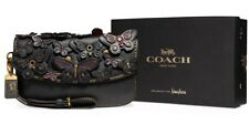 Black Coach 1941 Wristlet Butterfly Clutch Bag NWT