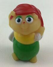 "Glo Friends Glo Clutterbug Worm Bug Toy Figure 3"" Vintage 1986 Hasbro Gloworm A5"