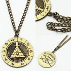 Anime Gravity Falls Bill Cipher Boss Necklace Pendant Cosplay Collection Otaku