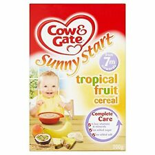 Cow and Gate 7 Months Sunny Start Tropical Fruit Cereal 200 g (Pack of 5)