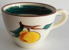 Stangl Pottery FRUIT Coffee Tea Cup Vintage Hand Painted Trenton Replacement