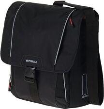 Fahrradtasche Schultertasche BASIL Computertasche schwarz
