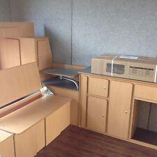 VW T2 Bay Camper Van Interior Muebles LHD Paquete