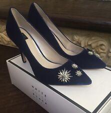 White House Black Market Size 6.5 Women's Olivia Velvet Pumps Shoes