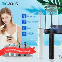 Sonic Electric Toothbrush Oral Care TeethWhiten App UV sterilization Travel Case