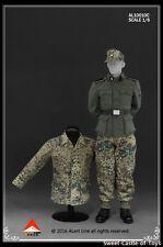 1/6 Alert Line Figure Accessory WWII Wehrmacht Tank Crew Overalls Set AL10010C