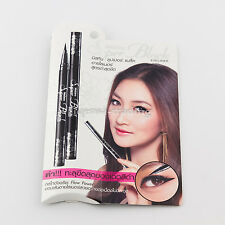 SUPER BLACK Mistine Eyeliner Auto Pen Make Up Artist Waterproof Cosmetic