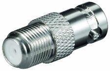 SAT BNC Adapter F-Kupplung auf BNC Kupplung Metall