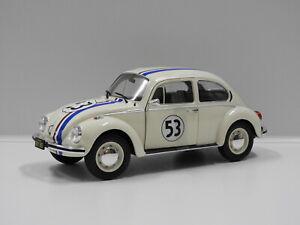"""1:18 Volkswagen Beetle 1303 Racer #53 """"Herbie"""" Solido S1800505"""