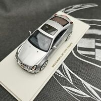 Luxury Collectibles 1:43 Scale CADILLAC XTS COUPE 2011 Silver Car Model in New