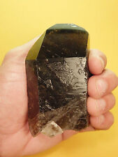 "Smoky Quartz Terminated Crystal Healing Point Rock Reiki Stone 3.5"" 11oz SQ17"