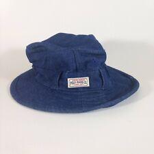 Ralph Lauren Polo Jeans Co. Blue Denim Bush Bucket Youth Hat One Size