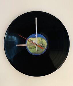 The Beatles - Blue Album - 12' Vinyl Record Wall Clock