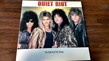 "Quiet Riot - The Wild And The Young ( 1986) 12""  Vinyl."