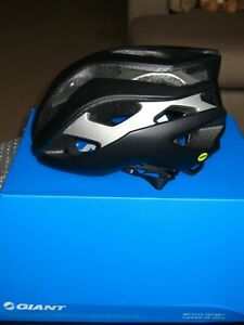 GIANT REV Mips Bike Cycling Helmet Black/Silver Medium