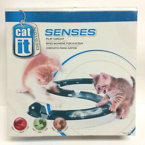 Catit Design Senses Play Circuit Cat Kitten Sight Sound Touch Play Toy - NOB