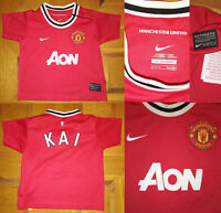 Maglia shirt jersey MANCHESTER UNITED NIKE vintage