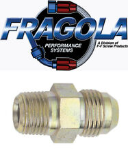 Fragola 684508-BL 8 AN Aluminum Real Street 45 Degree Hose Ends Black IMCA USRA