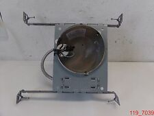 """Juno IC21 6"""" Line Voltage SHALLOW Can IC Air-Loc Remodel with Lighting Track"""