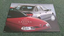 November 1997 1998 RENAULT LAGUNA 5 DOOR RANGE UK BROCHURE