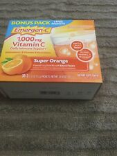 Emergen-c 1000 Mg  Itamin C Daily Immune Support Bouns Pak 30+3