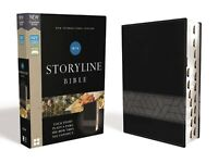 NIV, Storyline Bible, Leathersoft, Black, Indexed, Comfort Print BRAND NEW!!!