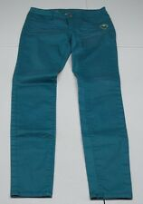 Princess Vera Wang Womens 5 Teal Green Cotton Blend Skinny Jeans NWOTs