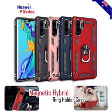 For Huawei P30 Pro P30 Lite Magnetic Ring Case Shockproof Heavy Duty Cover