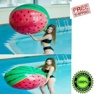 Playing Oversized Inflatable Water Watermelon Beach Ball Parent-child Game Ball