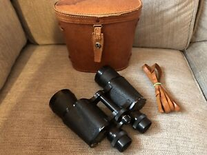 Vintage Fujicon 10 x 50  Field 11* binoculars no 36083 With Leather Case No Res!
