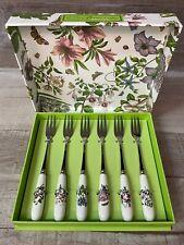 Portmeirion Botanic Garden Set of Six Pastry Forks