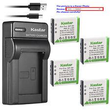 Kastar Battery Slim Charger for Fujifilm NP-50 NP-50A Fuji FinePix F75EXR Camera