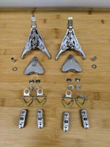 Campagnolo Delta Record 2nd Gen Brake Set 3 Pivot Caliper Vintage