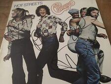 "Chicago Autographed Album ""Hot Streets"" COA"