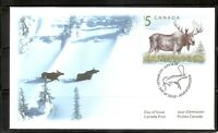 Canada SC # 1693 Moose FDC . Canadian Bank Note Group