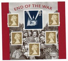 GB 2005 End of the War unmounted mint mini / miniature sheet MNH m/s stamps