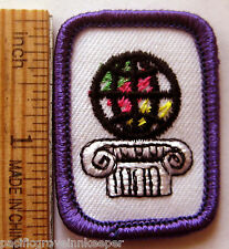 Girl Scout 1980-96 WORLD OF ARTS DABBLER Senior Interest Project Patch IP IPP