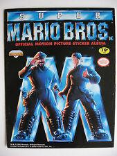 """Diamond sammelbilderalbum """"Super Mario Bros."""", autorice, vacío álbum plus conjunto de imágenes"""