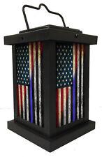 Brotherhood® Light of Hope for law Enforcement Flag - Thin Blue Line RWB