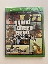 GTA Grand Theft Auto San Andreas Xbox One Xbox 360 NEW Factory Sealed