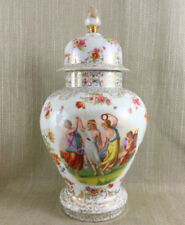 White Vase Antique Original Porcelain & China