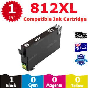 1x Black 812XL Compatible Ink Cartridge For EPSON WF3820 WF3825 WF4830 WF4835